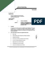 O.G. 2005-10 Normas y Procedimientos para Las Honras funebres  a Miembros Activos o a Ex miembros de la Policía de P.R.