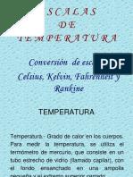 Presentacion escalas temperatura