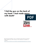 'How I was abducted and tortured' via ZimLive