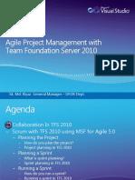 TFS 2010 Agile Mgt