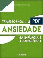 Livro - Transtornos de Ansiedade na Infância e Adolescencia