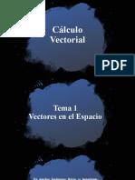 Cálculo Vectorial tema 1
