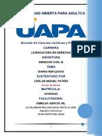 Diario Reflexivo Der..TRABAJO FINAL Derecho Civil III (Responsabilidad Civil)