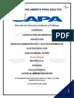 10 TAREA Derecho Administrativo y Sus Procedimientos