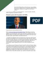 discursos de Obama