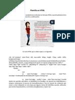 Plantilla en HTML(1)