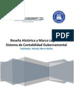 Guía  de la Reseña Histórica y Marco Legal del Sistema de Contabilidad Gubernamental