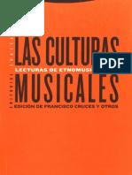 Blacking J - Cap 7 El analisis cultural de la musica en Las culturas musicales
