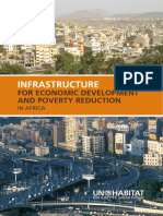 Infrastructure for Economic Development and Poverty Reduction in Africa