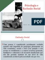 Psicologia e Exclusão Social