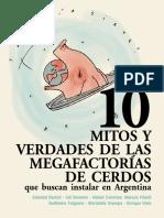 10 mitos y verdades de las megafactorías de cerdos