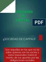 Semana 21-27Sep SOCIEDADES DE CAPITAL PPT