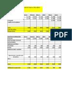 Estados Financieros EJERCICIO (1) xd