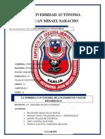 TEMA 18-LA POBREZA Y LA ECONOMIA DE LOS PAISES EN VIAS DE DESARROLLLO CORREGIDO