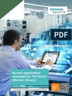 Siemens - Burner Application Example for TIA