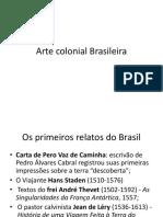 Arte Colonial Brasileira