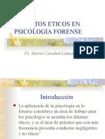 Ética en la Psicología Forense