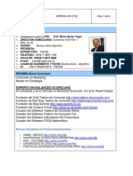 Marketing CV-Prof