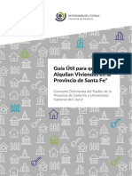 Guía para el Inquilino de la provincia de Santa Fe