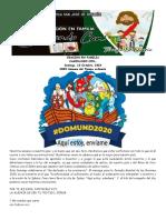 102  ORACION EN FAMILIA CAMINANDO CON... Domingo XXIX SEMANA TO 18-10-2020