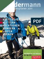 Bergsport Sundermann Jahresplaner 2011