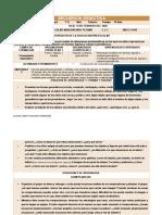 SECUENCIA DIDACTICA FIGURAS Y CUERPOS GEOMETRICOS