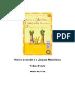 Patativa do Assaré - História de Aladim e a Lâmpada Maravilhosa (Literatura Em Minha Casa - Tradição Popular)