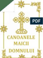 CANOANELE MAICII DOMNULUI