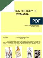 History of Fashion in Romania