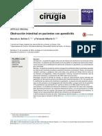 3 Obstrucción intestinal en pacientes con apendicitis