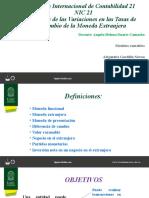 NIC 21 Efectos de las Variaciones en las Tasas de Cambio de la Moneda Extranjera.pptx