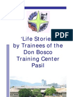 Stories of the trainees - page view