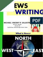 news writing ppt