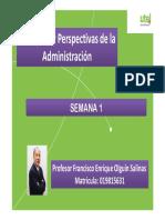 OPEN CLASS PPT  - Presentación y Semana 1 - Master  - Principios y Perspectivas - Dic 2019