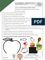 GUIA GRADOS 3, 4, 5   EDUCACION FISICA IV PERIODO