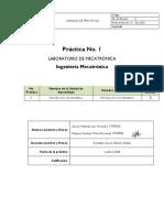 Práctica 1 de neumatica