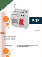 Entorno de programacion PLC RELPOL