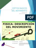 CONCEPTOS BASICOS DEL MOVIMIENTO