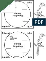 Burung Kenyalang BM Tahun 1