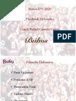 Playbook Buhos Ipn Dee por Rafael Canedo
