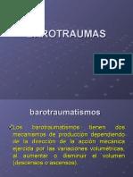 1.-FISIOPATOTOGIA BAROTRAUMAS