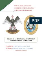 Constitucion Economica PERU 2020