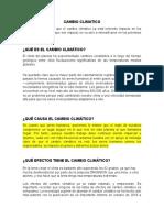 CAPACITACION CAMBIO CLIMATICO