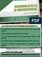 DESARROLLO DE LA ACTIVIDAD JURISDICCIONAL