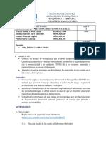 Laboratorio Bioseguridad y Reconocimiento de material