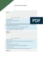 PREGUNTAS MODULO 6 CURSO BASICO DE DERECHOS HUMANOS