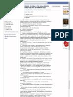 COMUNE DI BARI - VERBALE DEL 26-01-2011- Riunione Di Giunta Su Sangiorgio