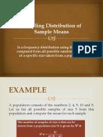 3 Sampling Distribution of Sample Means