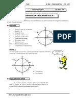 IV BIM - 4to. Año - TRIG01- Circunferencia Trigonométrica I