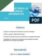 1.- Introduccion a Seguridad Informatica
